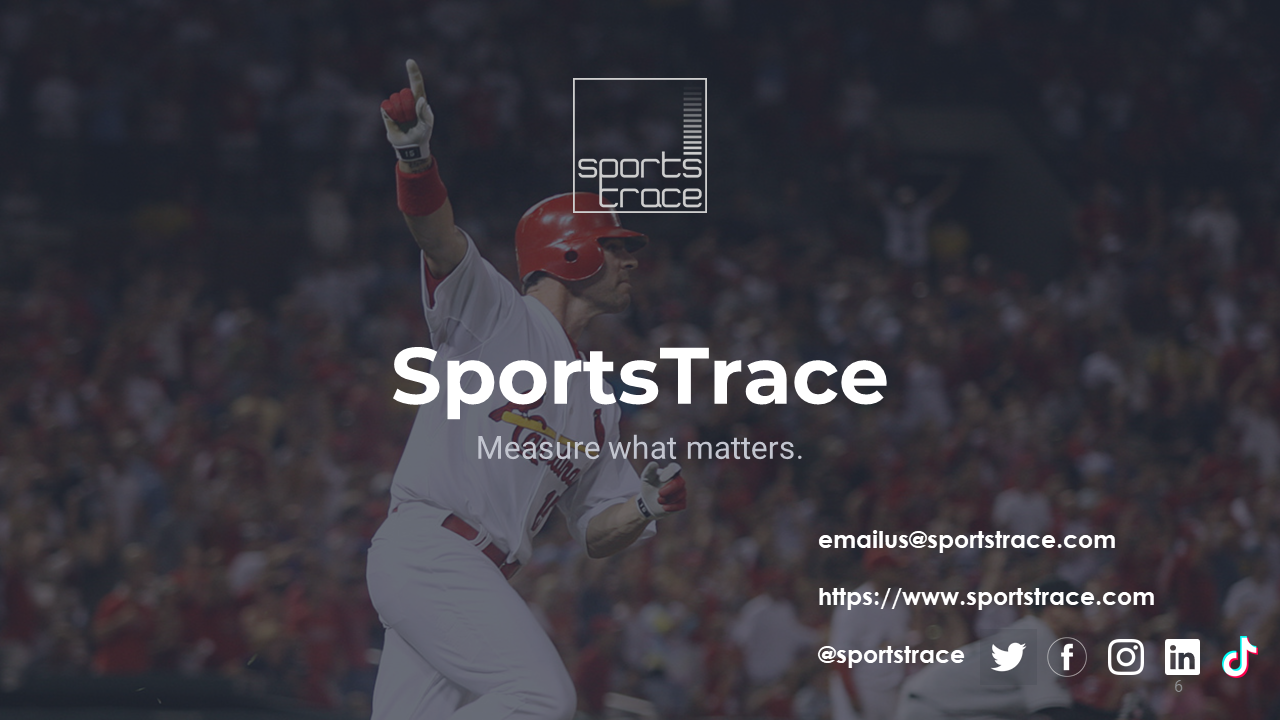 SportsTrace Softball Team outro